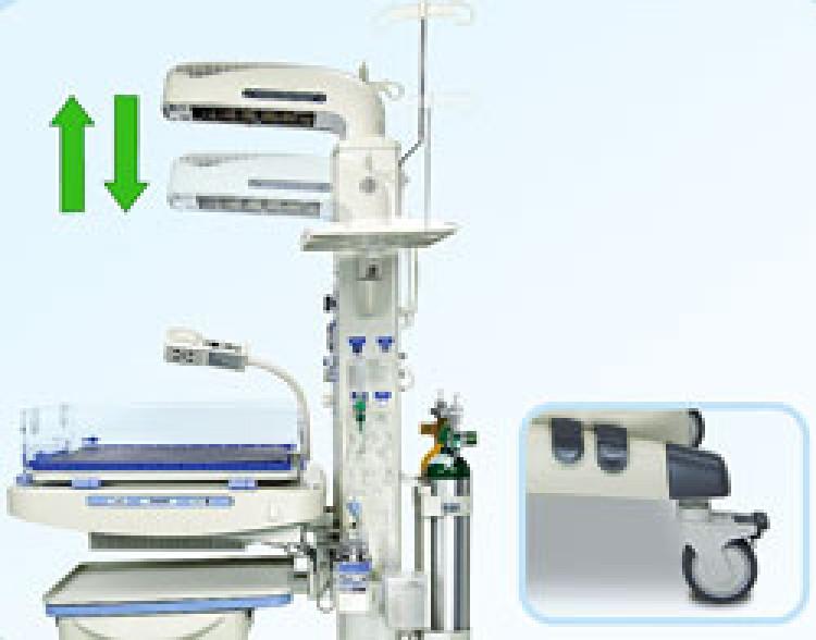 Система реанимационная открытая для ухода за новорожденными AMPLA 2085
