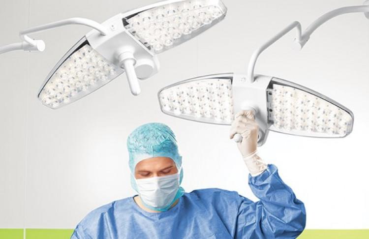 Потолочный операционный светильник Maquet Lucea
